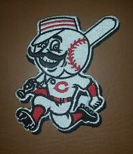 Cincinnati Reds Running Man Jersey Iron/ Sew-on Embroidered Patch/ Badge/ Logo
