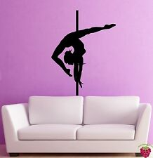 Wall Stickers Vinyl Decal Dance Pole Dancing Striptease Go Go Decor (z2003)