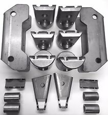 Polaris RZR XP1000 / XP1K 4 seat Cage Connectors / Adapters / Bungs kit 1 3/4""