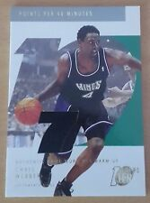 2002-03 Topps Ten Relic Parallel #17 /1500 Chris WEBBER