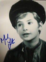 MARK LESTER - OLIVER ACTOR - EXCELLENT SIGNED B/W PHOTOGRAPH