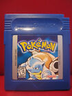 Pokemon Blue Version Nintendo Game Boy Color Cartridge only will save