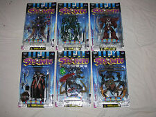 MANGA SPAWN Set Series 9 - Orig paint - Violator,Clown,Goddess,Curse,Ninja,Spawn