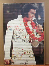 vintage 1975 Elvis Presley Las Vegas original The King pop artist poster 8964