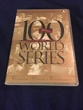 100 YEARS OF THE WORLD SERIES DVD BASEBALL