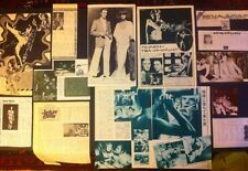 David Bowie Clipping JAPANESE 1970s articles,Newspaper, Magazine  Scrapbook,RARE