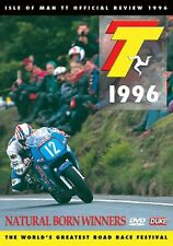 Isle of Man TT - Official Review 1996 (New DVD) Natural Born Winners
