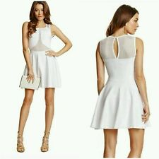 GUESS BY MARCIANO WHITE Kanya Bandage Dress SIZE S