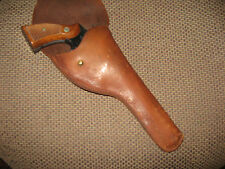 """Flap Holster Colt New Service S&W N Frame 24 25 27 28 29 629  6"""" GC"""