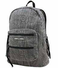 2016 NWT WOMENS VOLCOM GAME CHANGER BACKPACK $69 black cotton exterior pockets