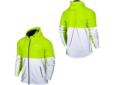 Nike Shield Flash Reflective 3M Volt Running Jacket 553680-702 Men's Size XL NWT