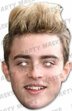 Jedward John Celebrity Face Card Mask, Mask-arade, Impersonation/Fancy Dress #US