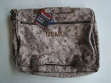 USMC MARINE CORPS DESERT MARPAT CAMO CAMOUFLAGE WATERPROOF ATTACHE BRIEF CASE +
