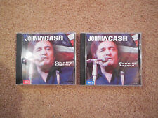Johnny Cash 2 CD Lot - Country Legend 2CD Set FREE SHIPPING!