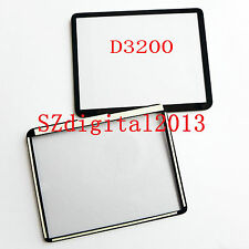 Window Display (Acrylic) Outer Glass For NIKON D3200 D3300 Repair Part +Glue