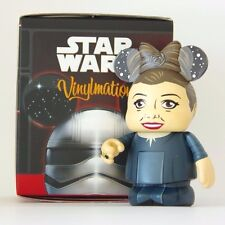 Disney Parks Vinylmation Star Wars Force Awakens Princess Leia Chaser Box & Bag