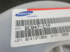 BC847C. 1 REEL OF 3000. SAMSUNG DIODE.  UK STOCK.