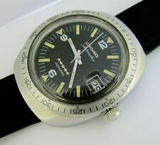 Vintage LONGINES 5* Admiral Divers Automatic Cal 505 Date Wristwatch 17J REPAIR