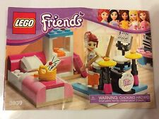New Lego Instruction Manual ONLY from Set 3939 Mia's Bedroom