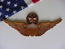UNITED STATES ARMY MASTER PILOT WING WALL PLAQUE