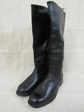 WWII Type Soviet Army Officer's Thin Leather Boots.1970s. Size 10  Mint