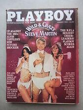 PLAYBOY (US)  1 - 1980  COVER: STEVE MARTIN - CHEERLEADERS