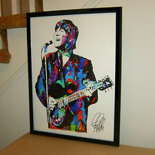 John Lennon, The Beatles, Singer Songwriter Guitar Guitarist 18x24 POSTER w/COA2