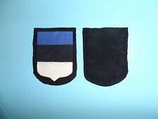 b8076 WW2 German Army Volunteer  Estonia cotton on wool pointed bottom