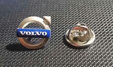 Volvo Pin Abzeichen Logo 12x12mm Pfeil blau-weiß-silbern