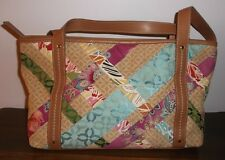 RELIC Multi-Color Patchwork SHOPPER, HOBO, SHOULDER BAG ~ Excellent Condition