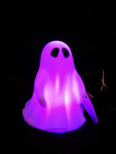 Halloween Office Decorating KIT / USB LED Ghost, LED Spider Web & window Clings