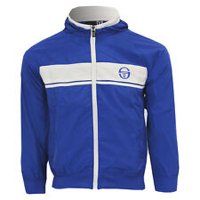 Boys Sergio Tacchini Light Weight Zip Hooded Jacket Casual Sport Tracksuit Top