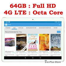 "NUEVO TECA T811 4G LTE 3.6GHz OCTA CORE 64GB 10.1"" Full-HD ANDROID 6.0 TABLET"