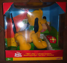 DISNEY - BABY PLUTO - WALK'N WAG - BON CHIEN - FISHER-PRICE