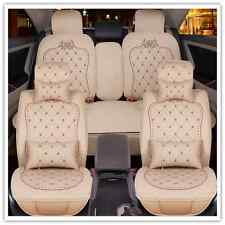 Leather Car Seat Covers Toyota Honda Mazda Holden BMW SUV Corolla Camry RAV4
