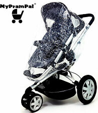 My Pram Pal® Universal Raincover to fit for Quinny Buzz Pushchair Pram Buggy