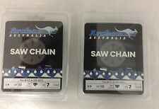 "2 Pack 28"" Chainsaw Chain 3/8-050-92DL replaces Stihl Husky 72LGX92G 33RSC-92"
