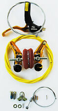 Dia-Compe 988 BMX cantilever bicycle brake & RH lever w/ FREE cable kit - GOLD