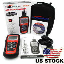 EOBD OBD2 OBDII Car Scanner Diagnostic Live Data Code Reader Check Engine KW808