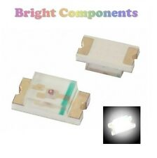 10 x 0402 White LED (SMD) - Ultra Bright  - UK - 1st CLASS POST