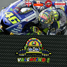 Valentino Rossi Vr 46 Laminado Reflectantes 3m Pantalla calcomanías Sticker 120mm F249