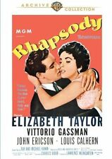 RHAPSODY (1954 Elizabeth Taylor) - Region Free DVD - Sealed