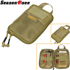 Airsoft Molle 1000D Utility Mobile Phone/Tools Waist Tactical Pouch Belt Bag Tan