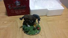 """The Clydesdale Collection """" An Apple For King"""" Anheuser Busch Figurine 1997"""