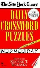 The New York Times Daily Crossword Puzzles (Wednesday) Vol. 1 by Nyt, New...