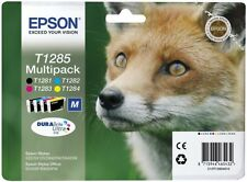 EPSON t1285, OVP, Multipack, 4 cartucce, fattura IVA M., 01/2019