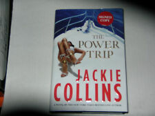 The Power Trip by Jackie Collins (2013, Hardcover) SIGNED 1st/1st