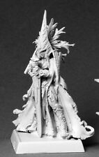Majestrix Darkreach Warlord Reaper Miniatures RPG Dark Elf Anti Paladin Figher