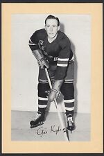 1945-1964 Beehive Group II 2 Hockey Gus Kyle New York Rangers High Grade Single
