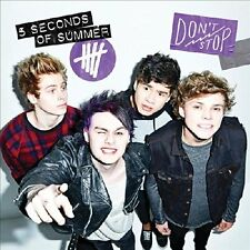 5 Seconds Of Summer - Don't Stop EP Aust +Bonus Stickers (5SOS) NEW CD SINGLE